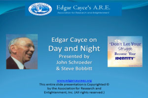 Edgar Cayce on Day and Night