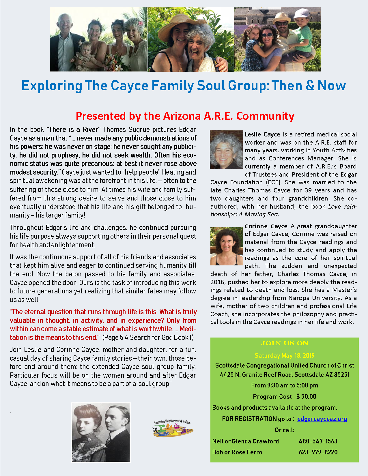 2019 May Conference flyer